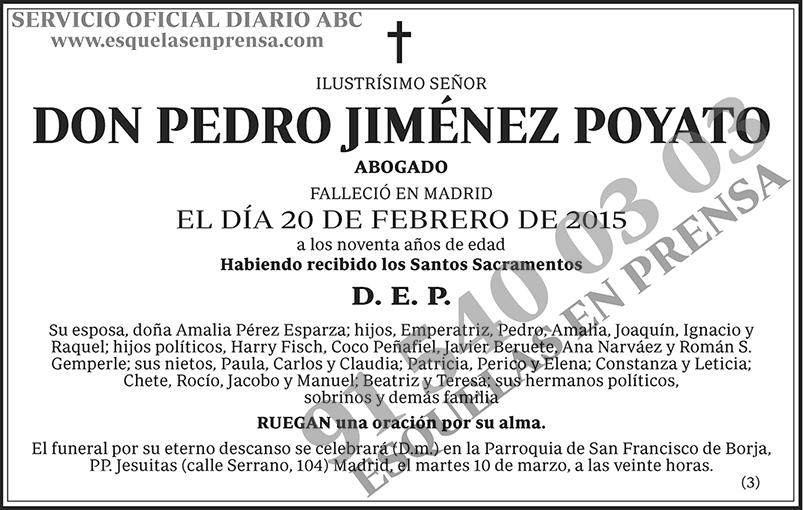Pedro Jiménez Poyato